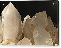 Rock Crystals Acrylic Print by Heiko Koehrer-Wagner