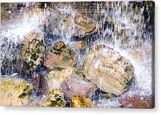 Rock Falls Acrylic Print