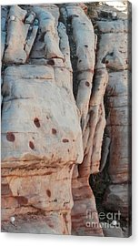 Rock Folds Acrylic Print