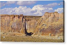 Rock Formations At Capital Reef Acrylic Print by Jeff Swan