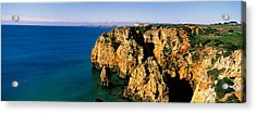 Rock Formations In The Ocean, Lagos Acrylic Print by Panoramic Images