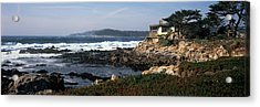 Rock Formations In The Sea, Carmel Acrylic Print