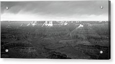 Rock Formations On A Landscape, Hopi Acrylic Print by Panoramic Images