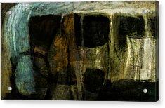 Rock Forms Acrylic Print by Jeremy Norton