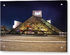 Rock Hall Acrylic Print