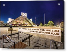 Rock Hall Plaza Acrylic Print