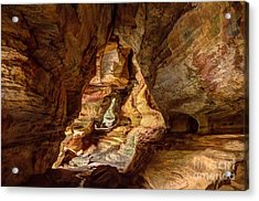 Rock House At Hocking Hills Oh Acrylic Print