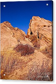 Rock Into The Sky Acrylic Print