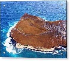 Rock Island Oahu Acrylic Print by Brigitte Emme