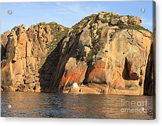 Rock Of Ages All Profits Go To Hospice Of The Calumet Area Acrylic Print