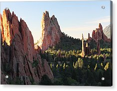 Rock Of Ages Acrylic Print by Eric Glaser