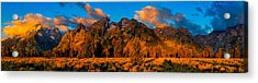 Rock Of Ages Panorama Acrylic Print