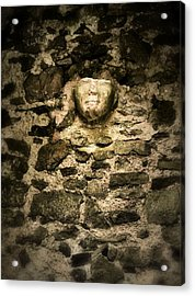 The Face In The Wall - Rock Of Cashel Acrylic Print