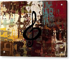 Rock On Acrylic Print by Carmen Guedez