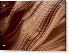 Rock Pattern 1 Acrylic Print by T C Brown