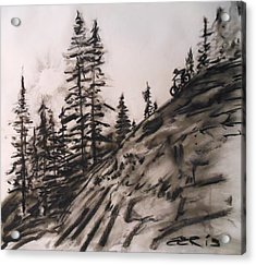 Rock Rider Acrylic Print