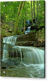 Rock Run Tributary Falls #1 Acrylic Print