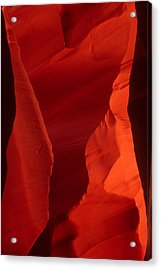 Acrylic Print featuring the photograph Rock Torso by Judi Baker