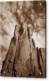 Rock Tower Acrylic Print