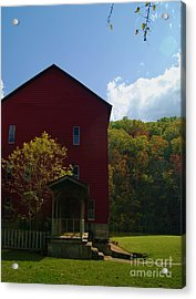 Acrylic Print featuring the photograph Rockbridge Mill by Julie Clements