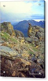 Rockcut In Rocky Mtn National Park Acrylic Print