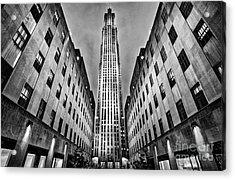 Rockefeller Centre Acrylic Print by John Farnan