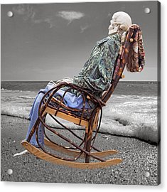 Rocker Rocking On Acrylic Print by Betsy Knapp