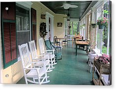 Rockers On The Porch Acrylic Print