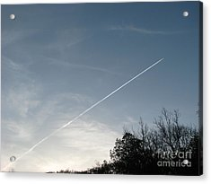 Acrylic Print featuring the photograph Rocket To The Stars by Michael Krek