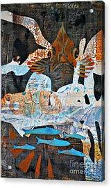 Rockfish And Rollfish Acrylic Print
