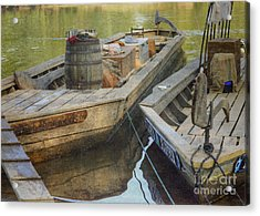 Acrylic Print featuring the photograph Rockfish Runner by Pete Hellmann