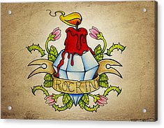 Rockin' Acrylic Print by Samuel Whitton
