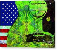 Rockin Usa 20140716 V2 P68 Acrylic Print by Wingsdomain Art and Photography