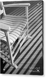 Rocking Chair On The Porch Acrylic Print