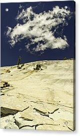 Rocking Skyward-yosemite Series 10 Acrylic Print by David Allen Pierson