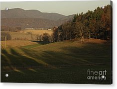 Rockingham County Virginia Meadow Acrylic Print