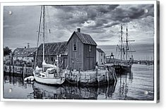 Rockport Harbor Lobster Shack Acrylic Print