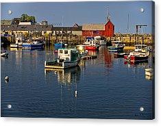 Rockport Harbor No.1 Acrylic Print