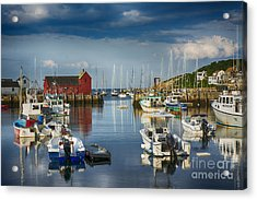 Rockport Harbor Acrylic Print