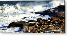 Rockport Acrylic Print by Kenny Glotfelty