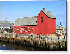 Rockport Motif Number 1 Acrylic Print