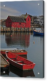 Rockport No. 1 Acrylic Print by Mike Martin