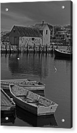 Rockport No.  2 Acrylic Print by Mike Martin