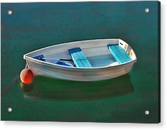 Rockport Row Boat Acrylic Print by Joann Vitali