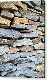 Rocks Acrylic Print by    Michael