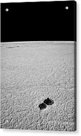 Rocks And Salt Acrylic Print by Guillermo Hakim