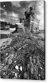 Acrylic Print featuring the photograph Rocks by Arkady Kunysz