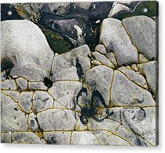 Rocks At Point Lobos C2014 Acrylic Print