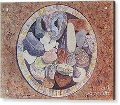 Rocks Acrylic Print by Carol Flagg