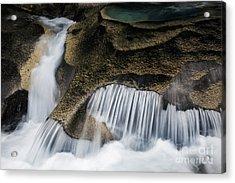 Rocks In Paradise Acrylic Print